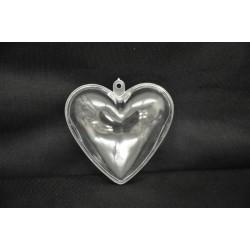 Scatola cuore plexiglas 6x6
