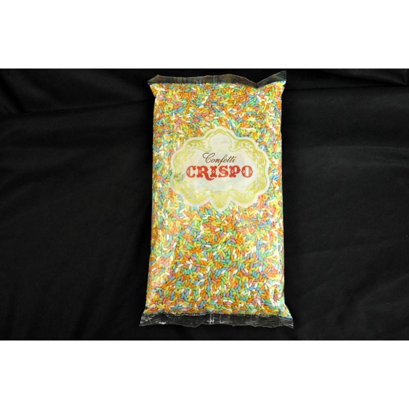 Busta di riso artificiale colorato kg 1 assisi souvenir for Cuocere 1 kg di riso