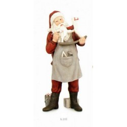 Babbo Natale in resina H 31