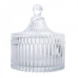 Barattolo vetro con coperchio CM 16