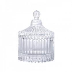 Barattolo vetro con coperchio CM 7