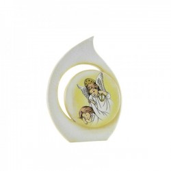 Icona goccia resina con angioletti CM 10