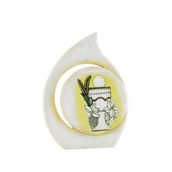 Icona goccia resina con calice CM 10
