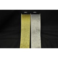 Nastro laminato oro o argento MT 25 MM 40