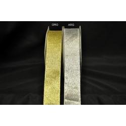 Nastro laminato oro o argento MT 25 MM 25