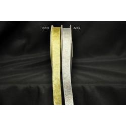 Nastro laminato oro o argento MT 25 MM 16