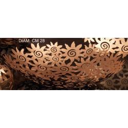 Centrotavola metallo traforato Diam 28
