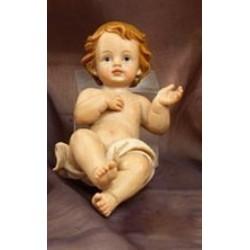 Gesù bambino in resina H 7