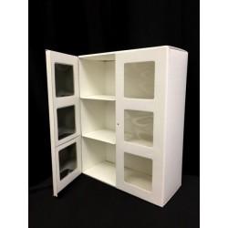Libreria cartoncino con doppia anta. CM 30x13 H 41
