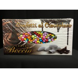 Lenti mignon di cioccolato fondente colorate. KG 1