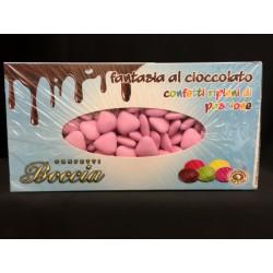 Confetti cioccolato fondente, forma cuore. KG 1