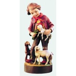 Bambino con pecore