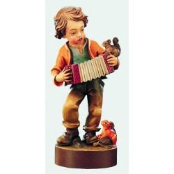 Bambino con fisarmonica