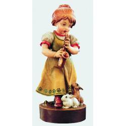 Bambina con sassofono
