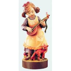 Bambina con mandolino