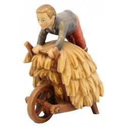 Pastore Bambino con carretto