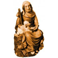 Pastore Seduto con Pecora