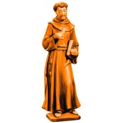 San Francesco scolpito in legno