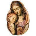Madonna rilievo scultura scolpita di legno