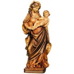 Nostra Signora dei favori figure scolpite di legno