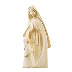 Madre di tutti i figli, figure moderne scolpite di legno