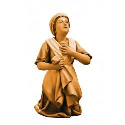 Bernardetta, statua scolpita in legno