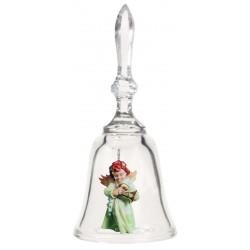 Campana in Cristallo con Angioletto Art. 16107-01
