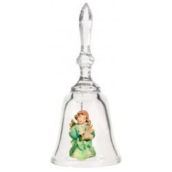 Campana in Cristallo con Angioletto Art. 16154