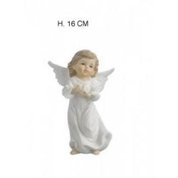 Angelo porcellana bianca. H 16