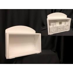 Espositore cassettiera cartoncino. CM 32x10 H 28