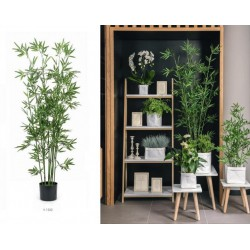 Pianta bamboo artificiale. H 150