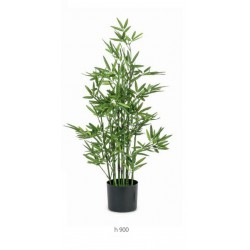 Pianta bamboo artificiale. H 90