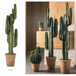 Pianta cactus artificiale. H 130