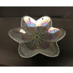 Ciotola vetro forma fiore Diam. 18