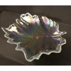 Ciotola vetro forma foglia Diam. 23