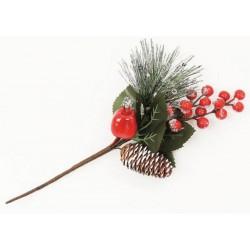Pick natalizio glitter CM 30
