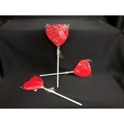 Lecca lecca forma cuore rosso. GR 20