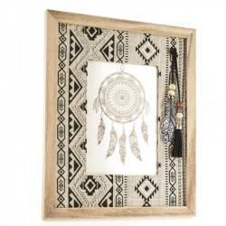 Portafoto legno rettangolare indian. CM 24x29
