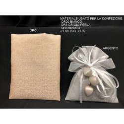 Sacchetto tessuto lucido. CM 11x14