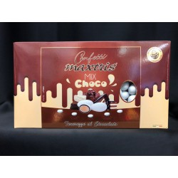 Confetti cioccomandorla, mix gusti cioccolato.KG 1