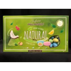 Confetti cioccomandorla vari gusti, aromi naturali e colori vegetali. KG 1
