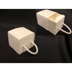 Scatola forma cassetto con decoro harmony. CM 4.5x4.5 H 4