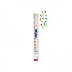 Cannon sparacoriandoli multicolor, espulsione aria compressa, gittata 8 MT. CM 60