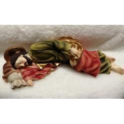 San Giuseppe dormiente in resina. CM 29 H 6