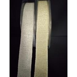 Nastro tessuto laminato oro o argento. MT 20 MM 16