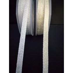 Nastro tessuto laminato oro o argento. MT 20 MM 6