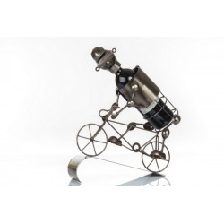 Portabottiglia latta ciclista LUNG. CM 35  LARG. CM 14