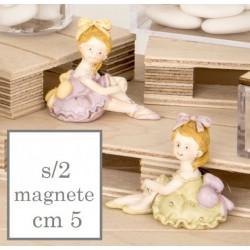 Ballerina resina con magnete. Ass 2. CM 5