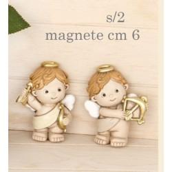 Angelo resina con magnete. Ass 2. H 6