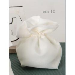 Sacchetto doppio tessuto con tirante. CM 10